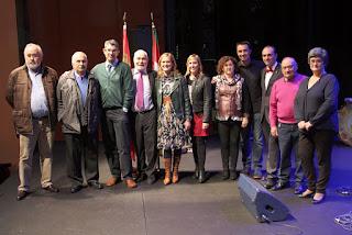 Entrega de premios del certamen literario de los centros castellanoleoneses en Euskadi