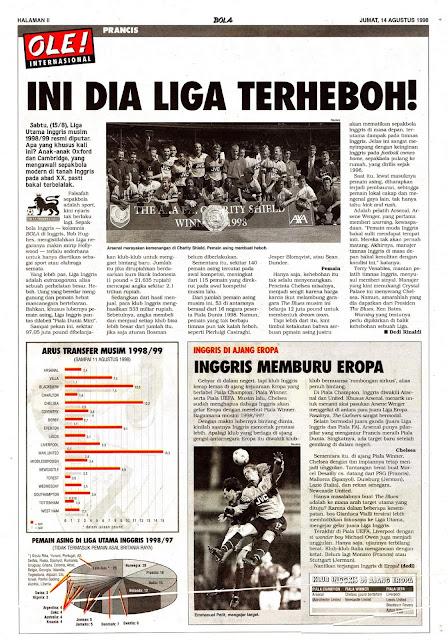 ARSENAL CHARITY SHIELD 1998 CHAMPION