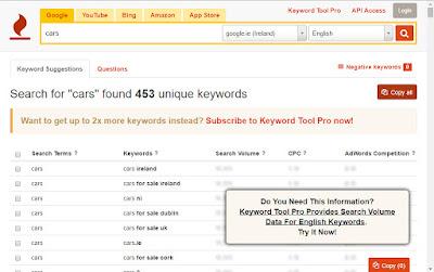 best keyword seo tool, keyword tool io