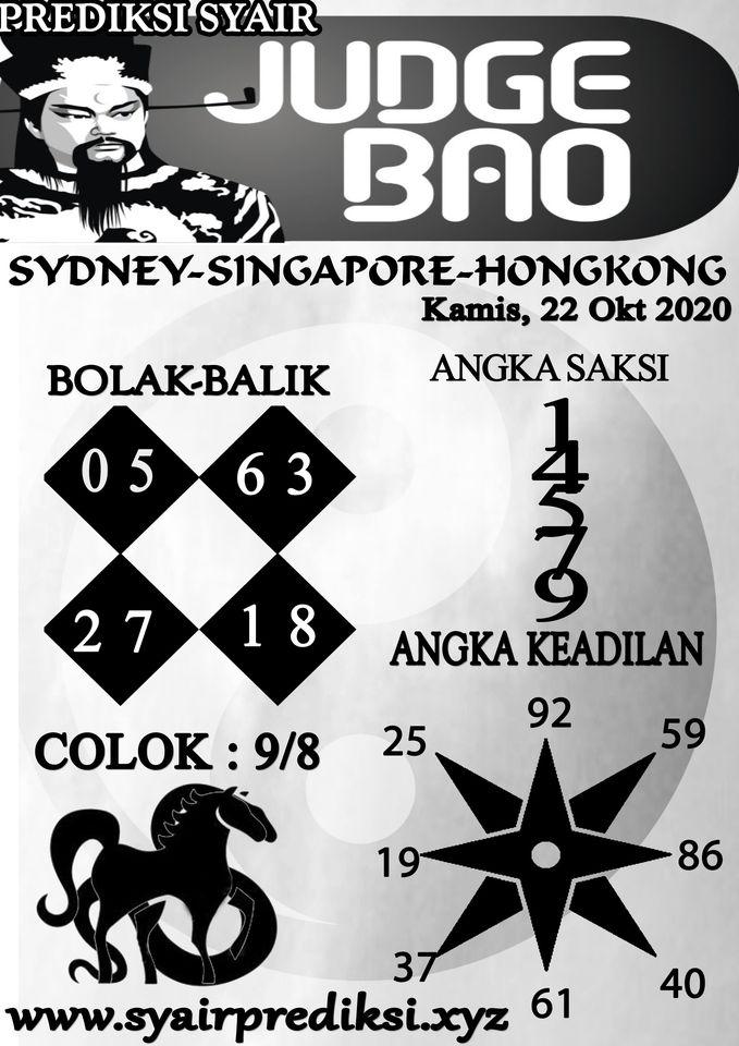 Kode syair Singapore Kamis 22 Oktober 2020 118
