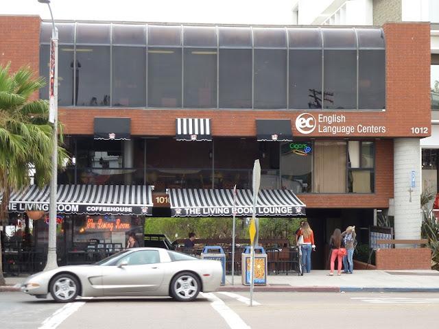 Escola de inglês EC San Diego na Califórnia