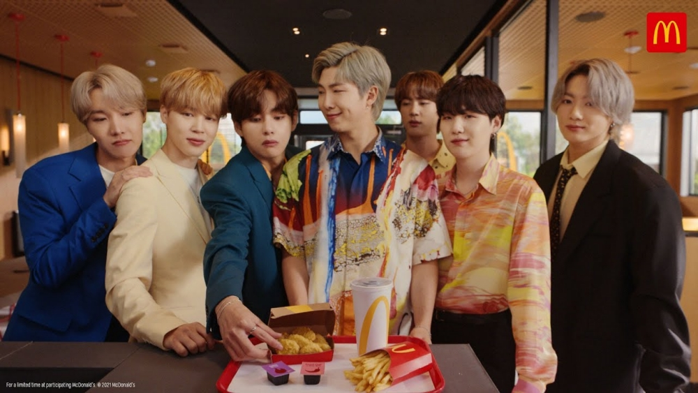 Thanks to BTS Meal, McDonalds Sales Increase Drastically in The Second Quarter of 2021