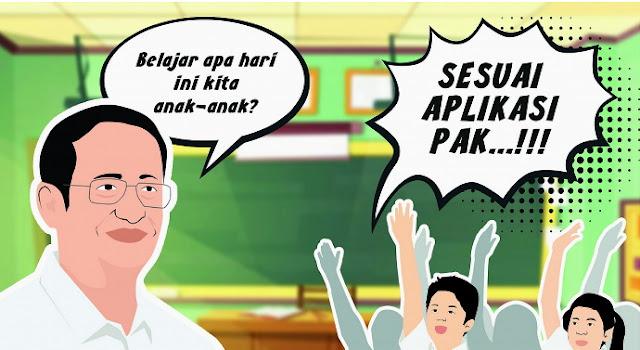 Mendikbud: Pembelajaran Jarak Jauh Nantinya akan Jadi Permanen