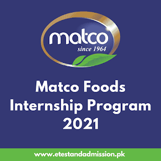 Matco Foods Internship Program 2021