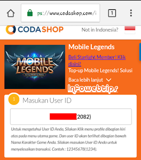 Cara Top Up Diamond Mobile Legend Murah