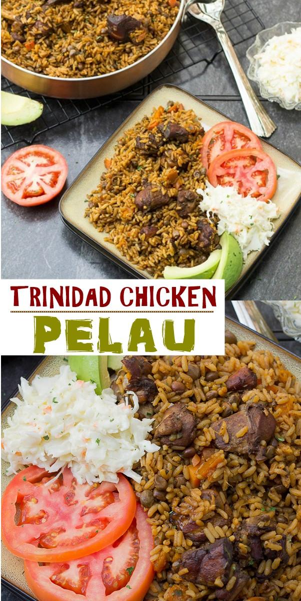 TRINIDAD CHICKEN PELAU #Dinnerrecipes