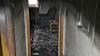 Bomberos desalojan un edificio con personas dependientes tras el incendio de una vivienda