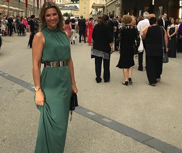 "Princess Martha Louise visited Salzburg Festival and watched the opera named ""Lady Macbeth de Mzensk"