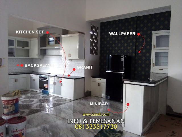 kitchen set semi klasik