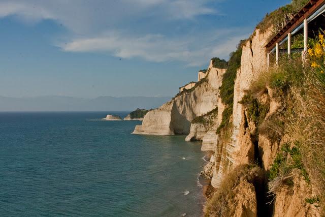 "Tavern ""Panorama"". Greece. Corfu. Peroulades. Таверна ""Панорама"". Греция. Корфу. Перуладес."