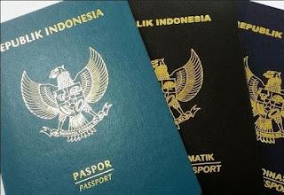 contoh gambar paspor