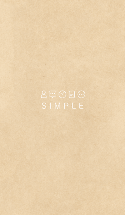 SIMPLE KRAFT(beige ivory)