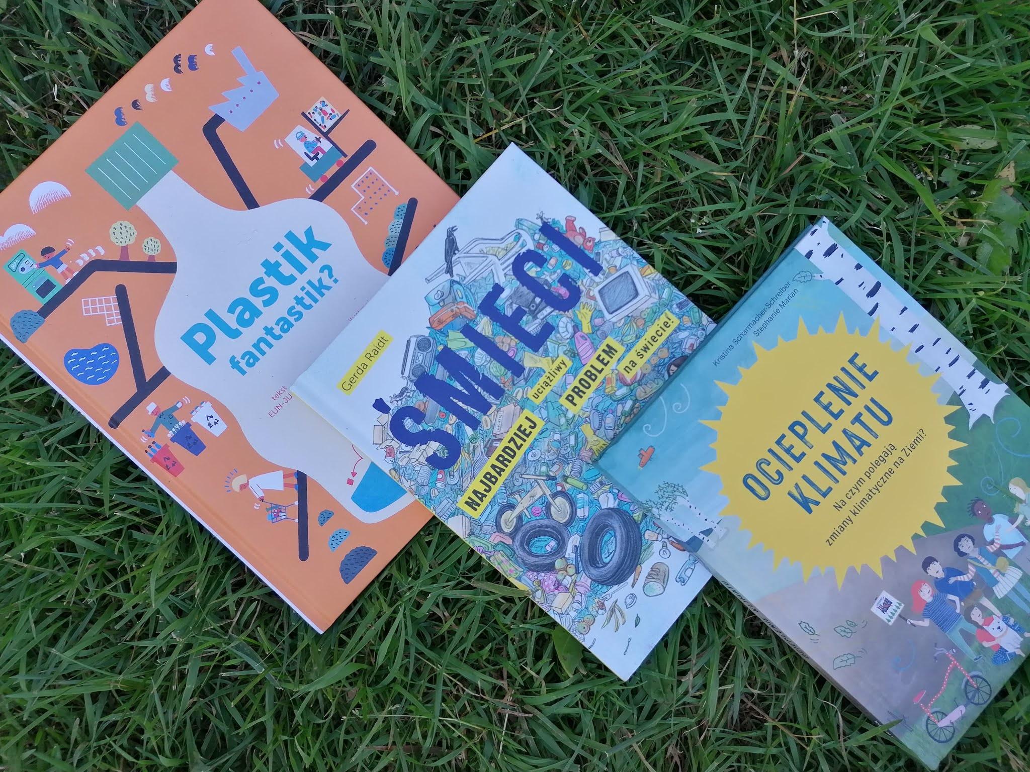 dzieci, książki, śmieci, dbanie o ziemie