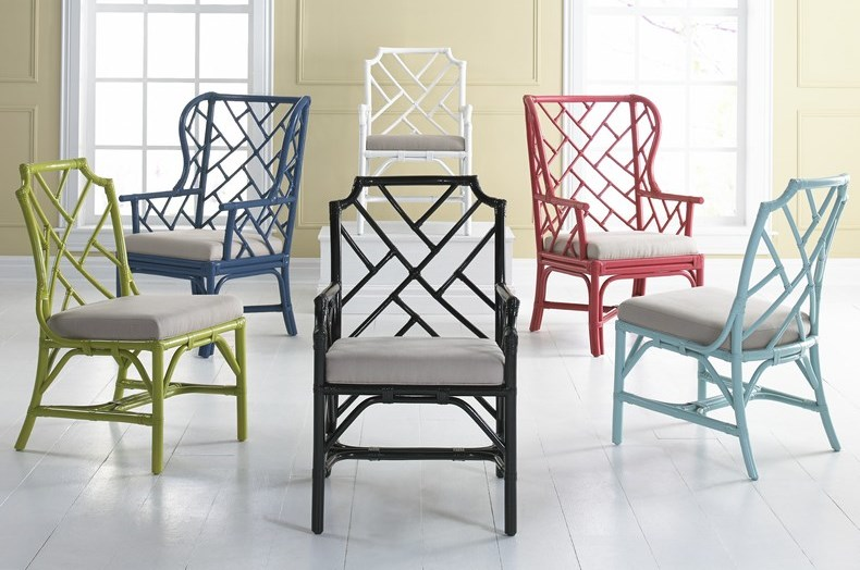 The Folks At Kenian Didnu0027t Skimp On Color Either, Offering Varied Color  Options For Their Chinese Chippendale Chairs.