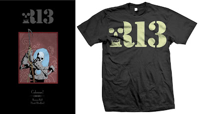 """Robot 13: Colossus!"" Trade Paperback Graphic Novel Cover & Robot 13 T-Shirt"