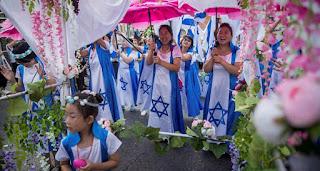 Milhares de cristãos participam da Marcha de Jersualém