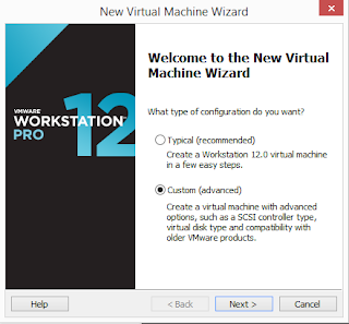 Welcome to New Virtual Machine Wizard