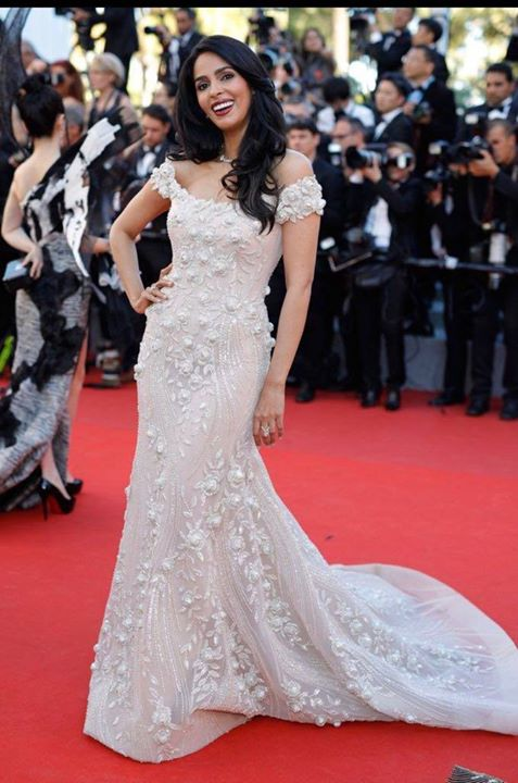 Mallika Sherawat At Cannes Film Festival 2017 Stills