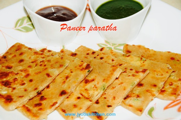 Paneer Paratha Recipe with step by step photo