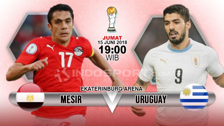 Prediksi Skor Mesir Vs Uruguay Piala Dunia Rusia 2018 Group A