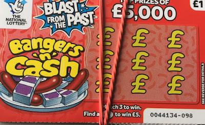 £1 Bangers 'n' Cash Scratchcard