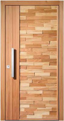 model pintu minimalis kayu biasa