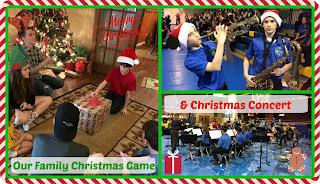 LOUISIANA LIFE: Our Family's Christmas Game & Christmas Concert