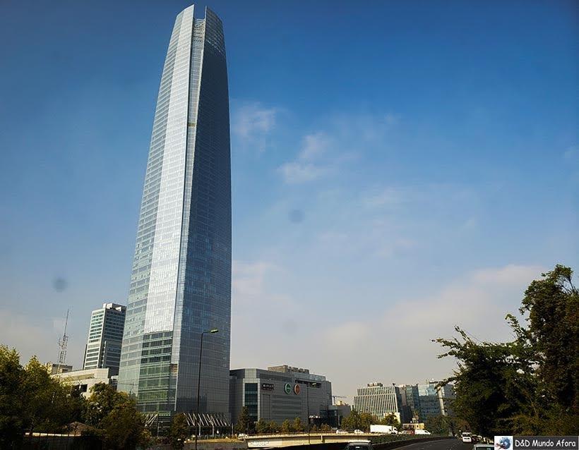 Sky Costanera - o que fazer em Santiago