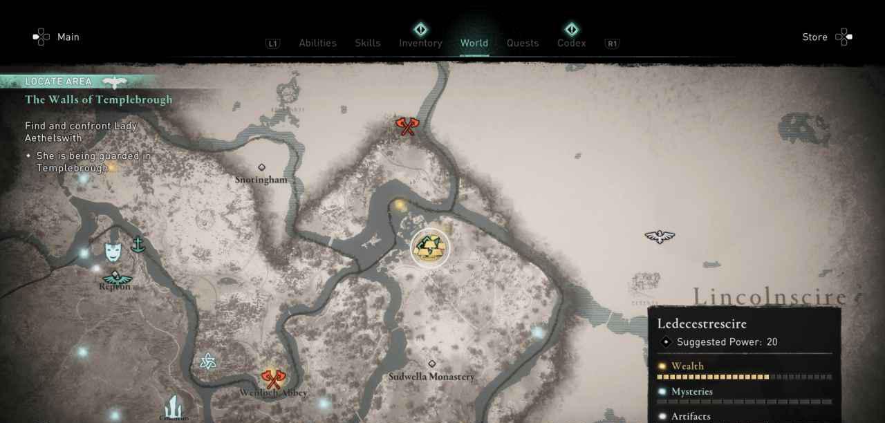 Ingot 22 Map