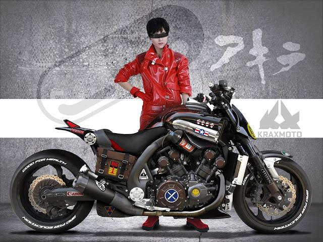 Akira Spirit V-Max by Krax Moto