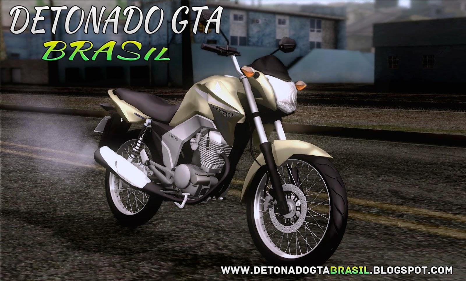 GTA SA - Honda CG Titan 150 2014