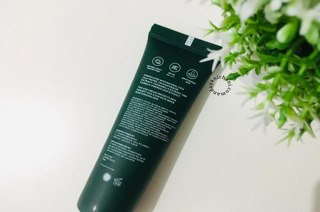 review sunscreen npure