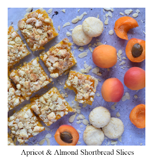 Consisting of three separate layers, this Apricot & Almond Shortbread recipe is all about varying texture.  And of course flavour!