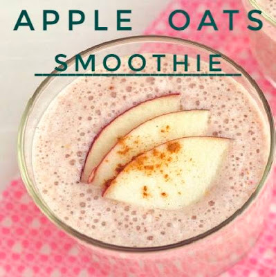 Apple pie oats smoothie