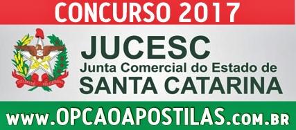 concurso JUCESC SC 2017