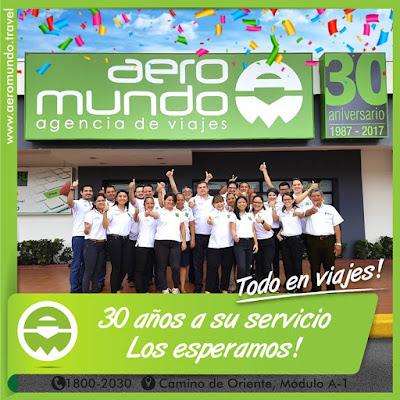 30 Aniversario Aeromundo