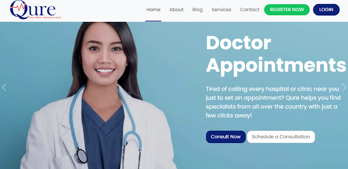QURE is here: A teleconsultation and wellness website for every Juan
