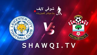 مشاهدة مباراة ساوثهامتون وليستر سيتي بث مباشر اليوم بتاريخ 30-04-2021 في الدوري الانجليزي