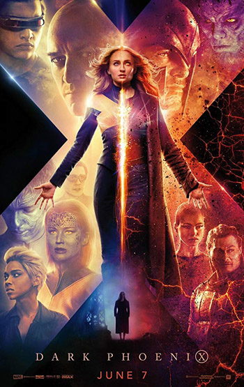 X-Men Dark Phoenix 2019 English HDCam 720p 800MB