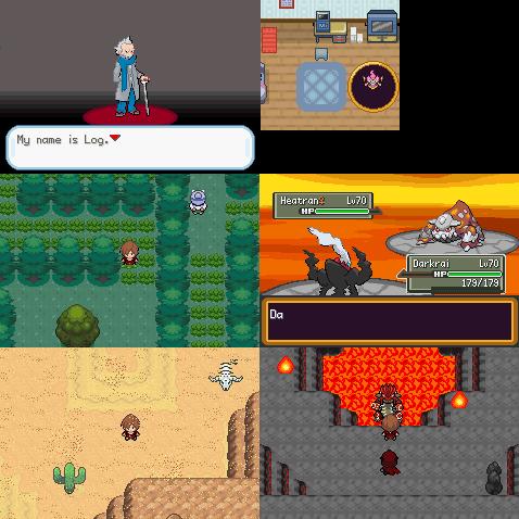 Pokemon Unbound gba