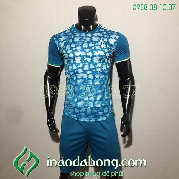 Áo bóng đá câu lạc bộ Juventus màu xanh 2020