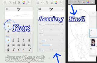 Cara edit foto jadi kartun jepang