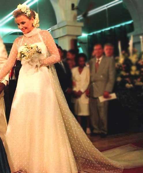 Casamento Pelé e Assiria anos 90