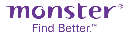 Showing Monster logo