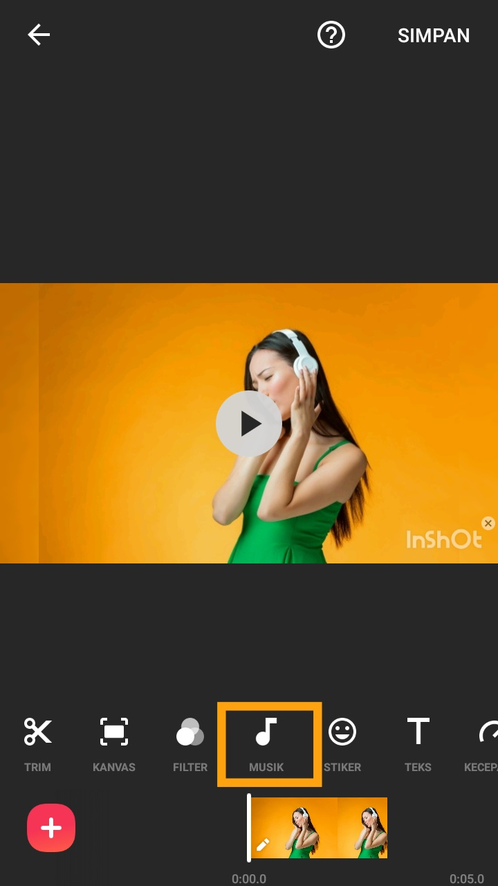 cara menggunakan aplikasi inshot untuk membuat video