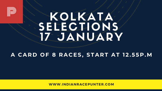 Today's Kolkata Race Card / Media Tips / Odds / Selections