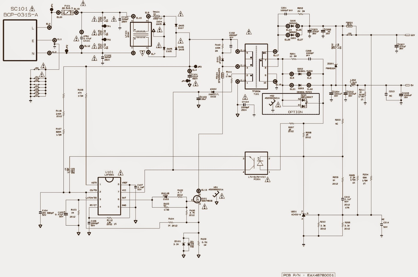 Lg Smps Power Supply Schematics