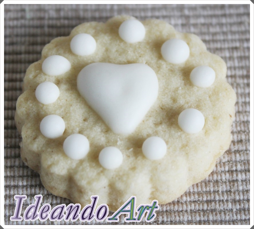 Galleta decorada con glasa