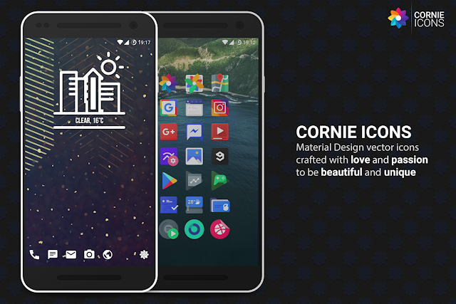 Cornie Icons pack apk free download