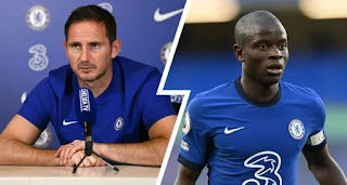 Chelsea boss Frank Lampard confirm N'Golo Kante out of Leicester game
